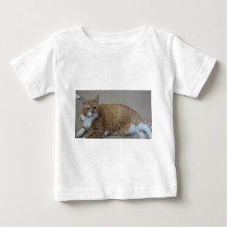 トラを採用して下さい ベビーTシャツ