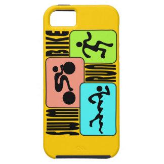 トライアスロンの三デザイン iPhone SE/5/5s ケース