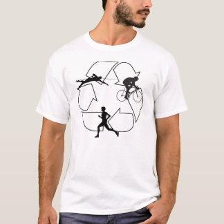 トライアスロンの人 Tシャツ