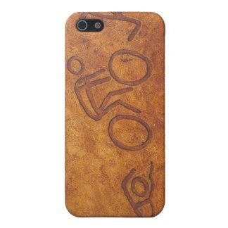 トライアスロンの岩石彫刻 iPhone 5 ケース
