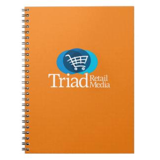 トライアド小売り媒体のノート ノートブック