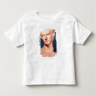 トラキアのc.39-40広告からの皇帝Caligulaのバスト トドラーTシャツ