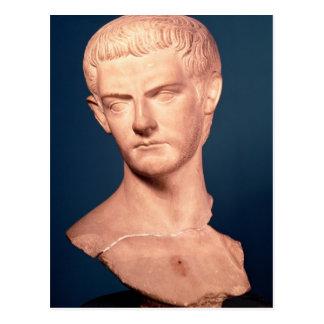トラキアのc.39-40広告からの皇帝Caligulaのバスト ポストカード