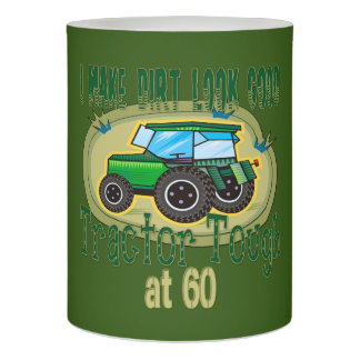 トラクターの堅い第60誕生日 LEDキャンドル