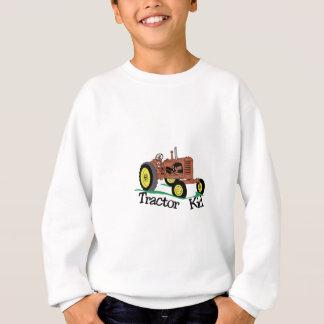 トラクターの子供 スウェットシャツ
