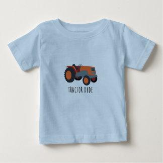 トラクターの男 ベビーTシャツ