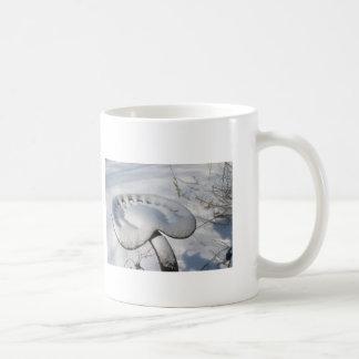 トラクターの雪の座席マグ コーヒーマグカップ