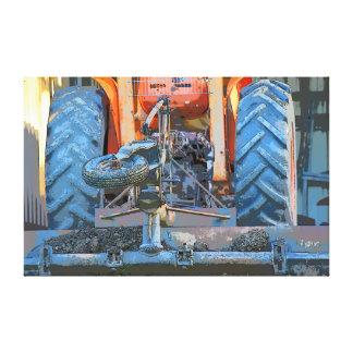 トラクター田園クイーンズランドオーストラリアキャンバスの芸術 キャンバスプリント