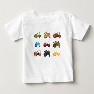 トラクター ベビーTシャツ