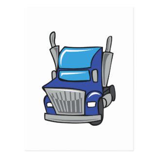 トラックのタクシー ポストカード