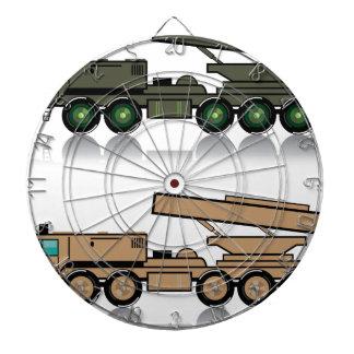 トラックのロケット発射装置 ダーツボード