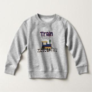 トラックの列車 スウェットシャツ