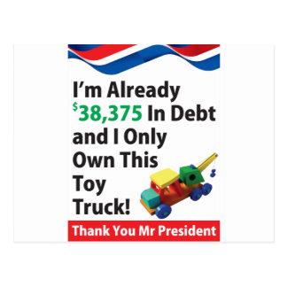 トラックの負債 ポストカード