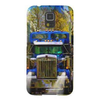 トラックの運転手の大きい装備の重いトラック運転手の芸術 GALAXY S5 ケース