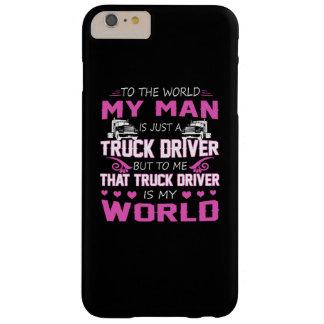 トラックの運転手-私の人 BARELY THERE iPhone 6 PLUS ケース