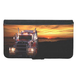 トラックの運転手 GALAXY S5 ウォレットケース