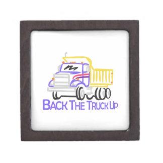 トラックを支持して下さい ギフトボックス