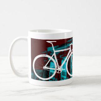 トラックバイクベルリン-赤い青 コーヒーマグカップ