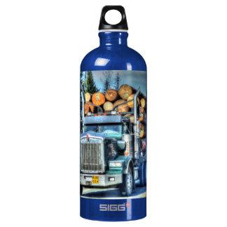 トラック恋人のための青く大きい装備の記録トラックの芸術 ウォーターボトル