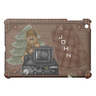 トラック運転手のテディのIPadの場合 iPad Miniカバー