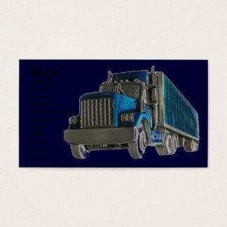 トラック運転手の名刺 名刺