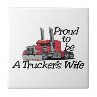 トラック運転手の妻 タイル