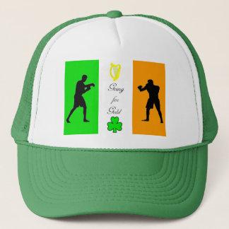 トラック運転手の帽子のためのボクシングのイメージ キャップ