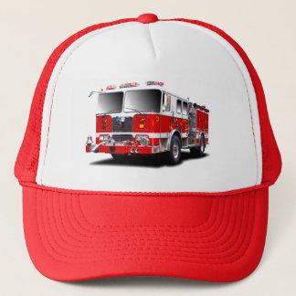 トラック運転手の帽子のための消防車のイメージ キャップ