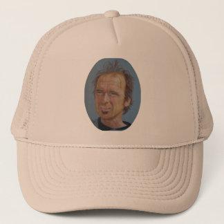トラック運転手の帽子のスティーブRiedelのポートレート キャップ