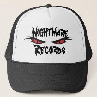 トラック運転手の帽子、悪夢の記録 キャップ