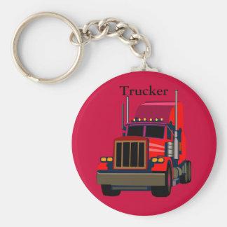 トラック運転手 キーホルダー