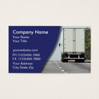 トラック運送の名刺 名刺