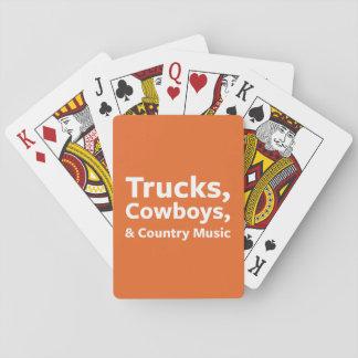 トラック、カウボーイおよびカントリーミュージック トランプ