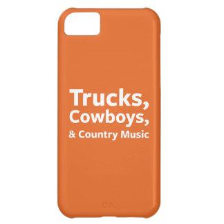 トラック、カウボーイおよびカントリーミュージック iPhone5Cケース