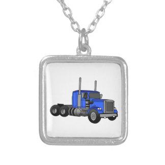 トラック シルバープレートネックレス