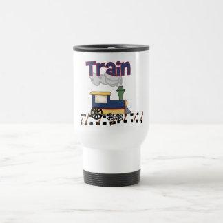 トラックTシャツおよびギフトの列車 トラベルマグ