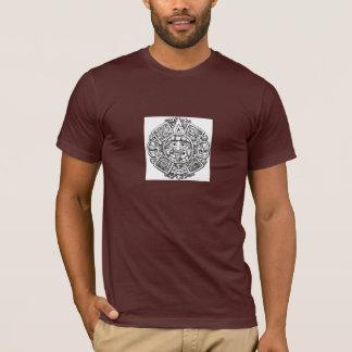 トラッフルのアズテック派の顔 Tシャツ