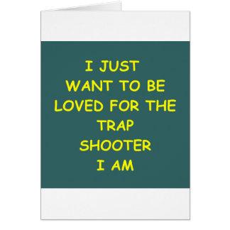 トラップ射撃 カード