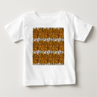 トラパターン ベビーTシャツ