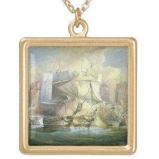 トラファルガー海戦、Actiの始め ゴールドプレートネックレス