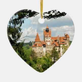 トランシルバニア、ルーマニアのドラキュラの城 セラミックオーナメント