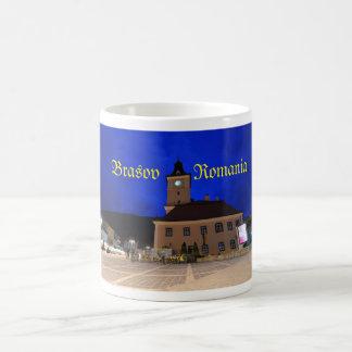 トランシルバニア、ルーマニアのBrasov コーヒーマグカップ