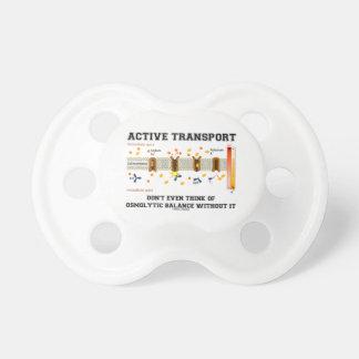トランスポートはOsmolyticのバランスの考えません おしゃぶり