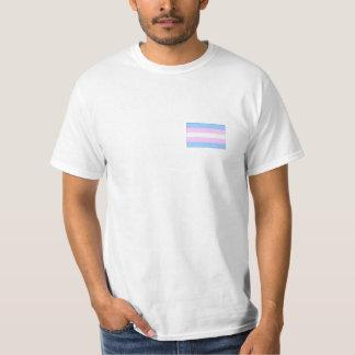 トランス・ジェンダーのプライドのTシャツ Tシャツ