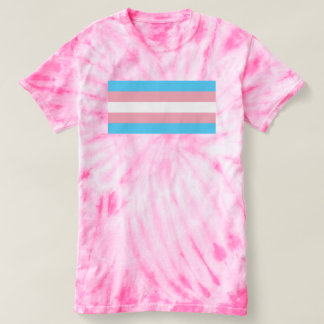 トランス・ジェンダーの旗TRANSのプライド Tシャツ
