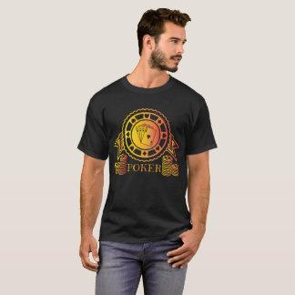 トランプのポーカーのクールな賭博カジノのトランプゲームのブラックジャック Tシャツ
