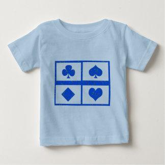 トランプのポーカーの記号の芸術-ファン・クラブ-多彩な選択 ベビーTシャツ