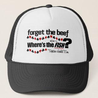 トランプのポーカーの魚の帽子1 キャップ
