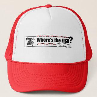 トランプのポーカーの魚の帽子2 キャップ