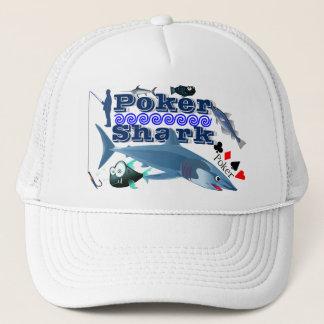 トランプのポーカーの鮫のトラック運転手の帽子 キャップ